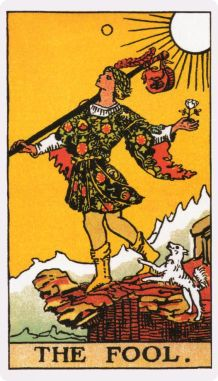 The Fool, Tarot, April 1, Tara Greene